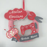 Motif broderie ITH Couronne d'Atelier Couture
