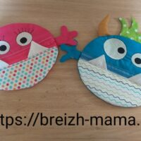 2 Motifs broderie Trousse Monstre ITH