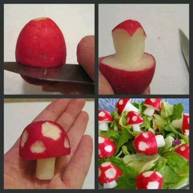 Styliser des radis !