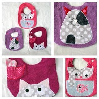 Inspiration couture bavoir pour bébé
