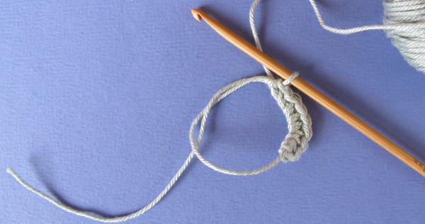 anneau magique au crochet