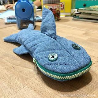 coudre une trousse requin