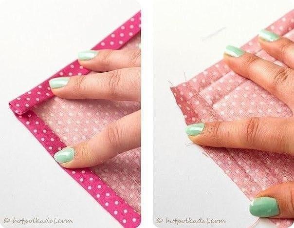 1 - Marquer les plis