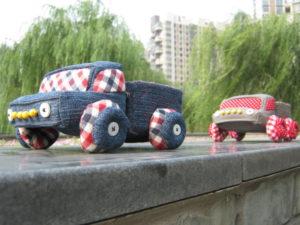 coudre un panier camion pick up