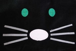 Coudre une cape chat Carnaval