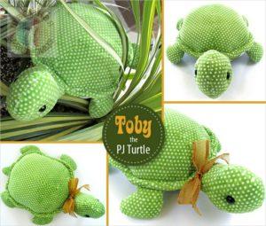 coudre une tortue range pyjama