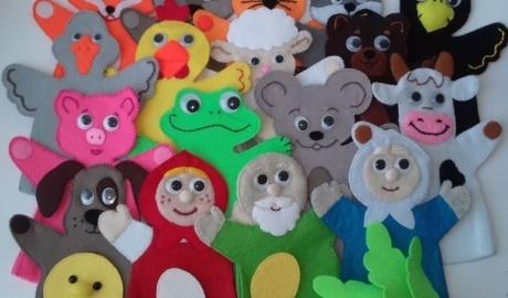 Coudre des marionnettes de main