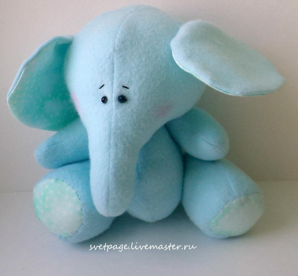 couture peluche éléphant