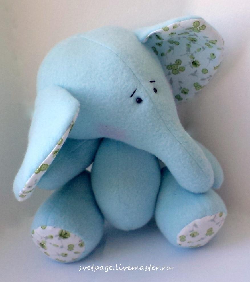 coudre une peluche éléphant