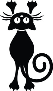 Motif broderie chat gratuit