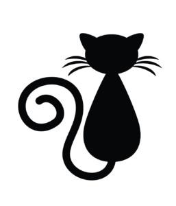 Motif broderis chat gratuit
