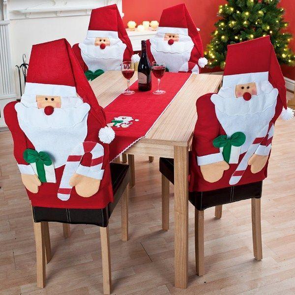 Idées Couvres chaise père Noël