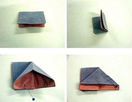 Tuto papillon origami - Étape 2