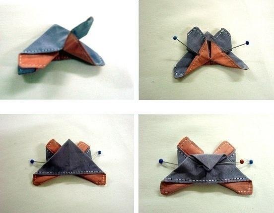 Tuto papillon origami - Étape 4