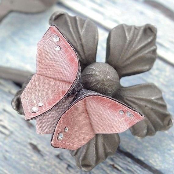 tuto papillon origami en tissu