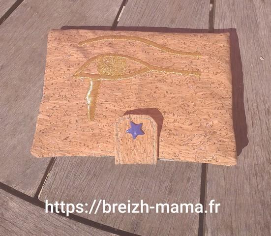 Porte monnaie broderie égyptienne
