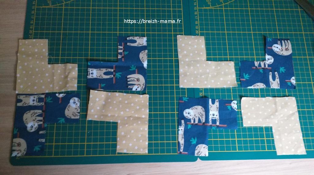 1 - Les pièces de base de la trousse paquet cadeau