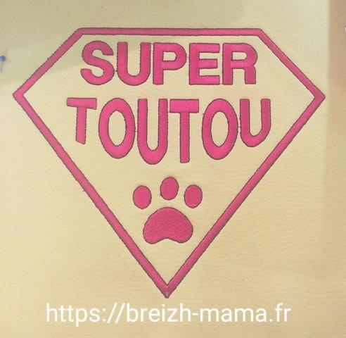 "Broderie ""Super Toutou"""