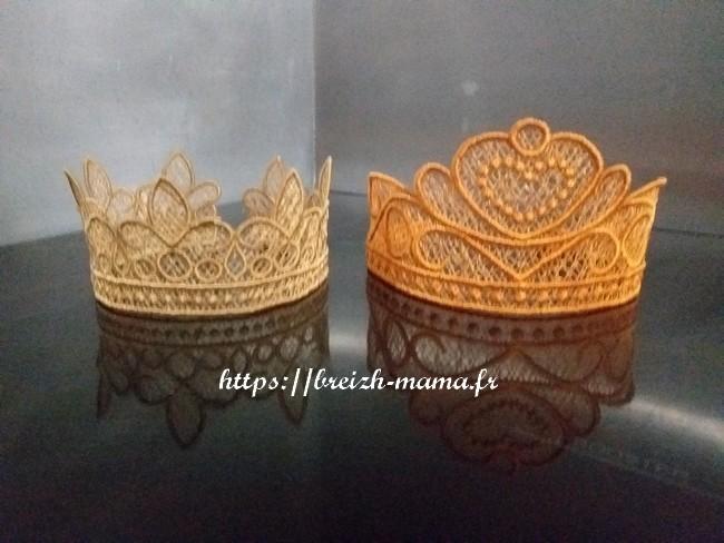Couronne reine et roi FSL