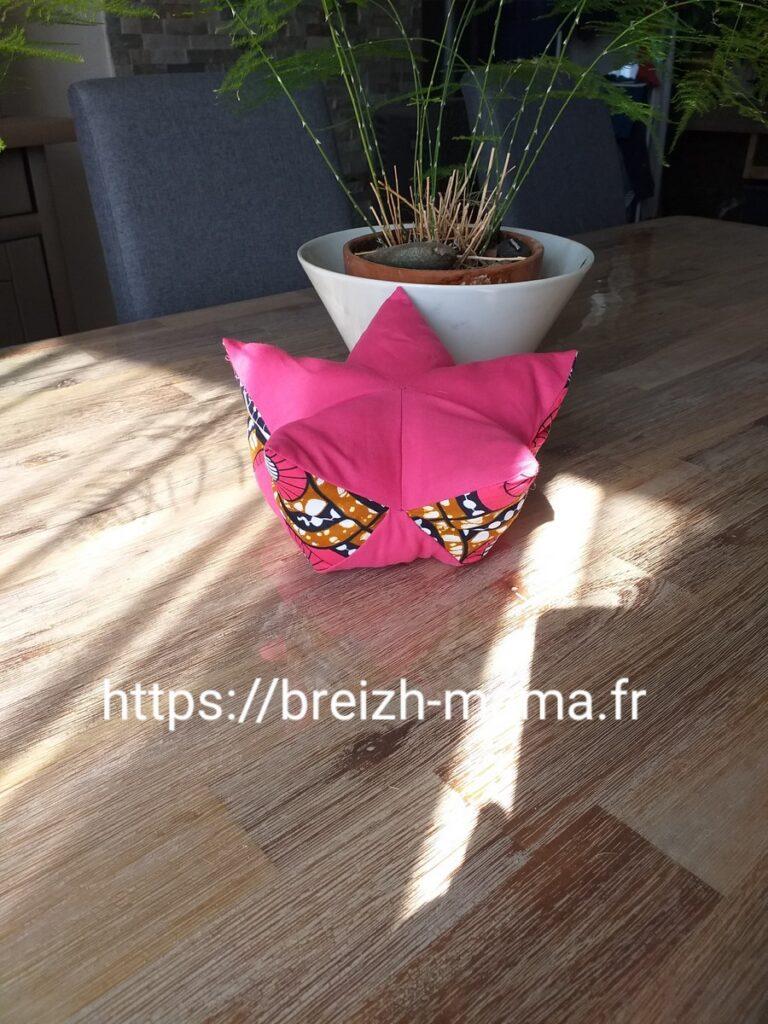 Pouf lotus miniature pour poupée