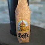 Sac étui à bouteille brodé Leffe